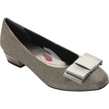 Ros Hommerson Women's Teddi Pump Silver Glitter