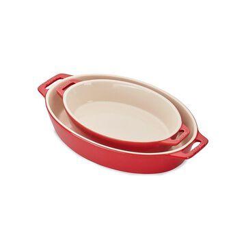 Staub 2-Piece Oval Baking Dish Set