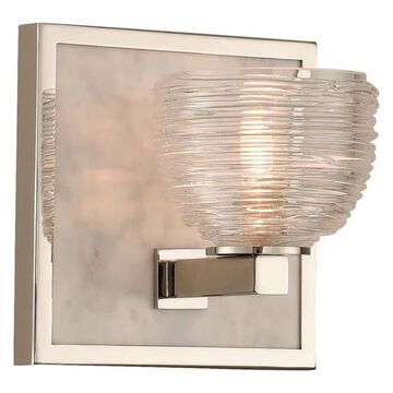 Bianco 6x6in 1 Lt Casual Luxury Wall Light by Kalco