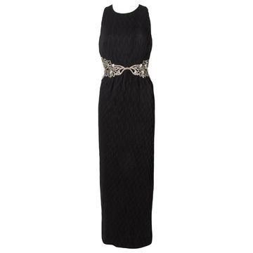 Badgley Mischka Black Polyester Dresses
