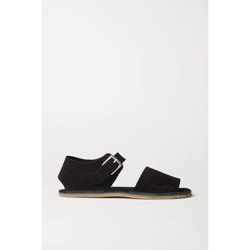 Acne Studios - Suede Sandals - Black