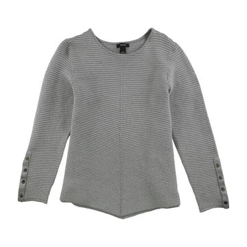 Alfani Womens Swing Knit Sweater