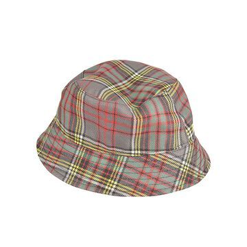 Philosophy di Lorenzo Serafini Check Print Hat