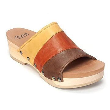 Earth Tiga Low-Wedge Sandal