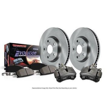 Power Stop KCOE5558 Autospecialty Brake Kit W/Calipers -Rear