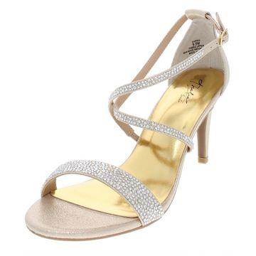 Thalia Sodi Womens Darria Faux Leather Strappy Dress Sandals