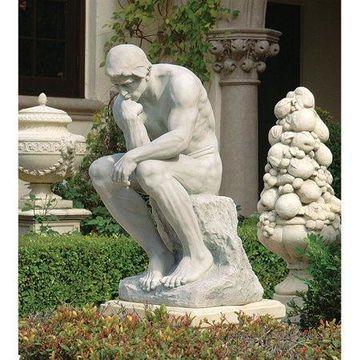 Design Toscano Rodin's Thinker Statue: Estate