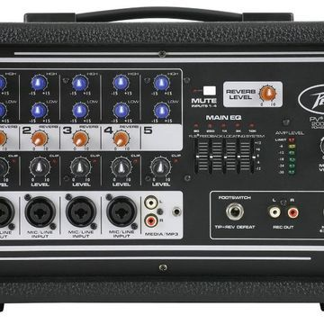 Open Box PV 5300 5-Channel Powered Mixer