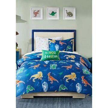 Jla Home Logan Robot Dinosaur Complete Bed And Sheet Set - -