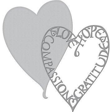 Spellbinders Shapeabilities Dies-Love Frame