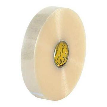 SCOTCH T903313 Carton Sealing Tape,2.5 Mil,2''x1000 yds.,Clear,PK6