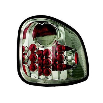 IPCW 97-03 Ford F150/F250 LD Tail Lamps LED Flareside Smoke LEDT-501FCS Pair