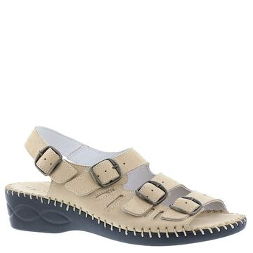 David Tate Womens Audrey Leather Open Toe Casual Strappy