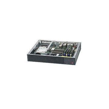 Supermicro SuperServer SYS-E200-9A FCBGA 1310 60W Mini-1U Server Barebone System (Black)