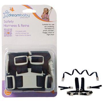 Dreambaby Safety Leash Harness Reins Baby Toddler Walking Kid Strap Keeper Belt