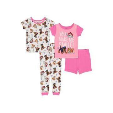 Paw Patrol Toddler Girls Cotton 4 Piece Set