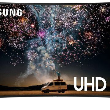 SAMSUNG 55 Class 7-Series Curved 4K Ultra HD Smart HDR TV - UN55RU730DFXZA