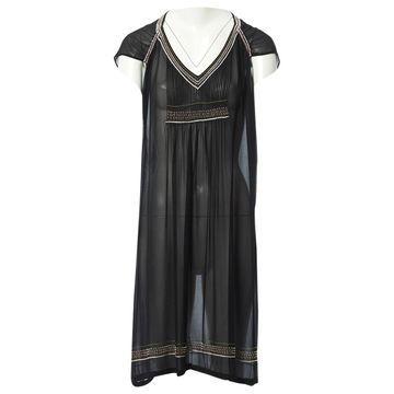 Dries Van Noten Black Silk Dresses