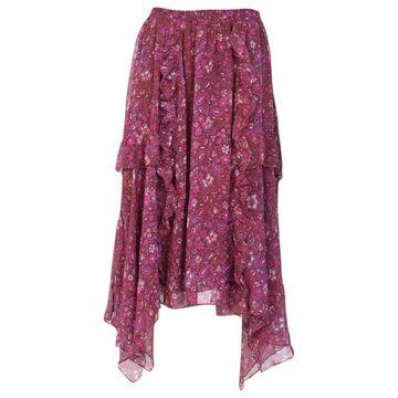 Ulla Johnson Purple Silk Skirts