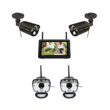 Uniden UDR777HD + ULC58-2 Wireless Surveillance Cameras w/ 7 Inch HD Monitor