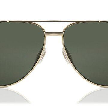 Smith SALUTE Polarized AOZ/M9 Men's Sunglasses Gold Size 59