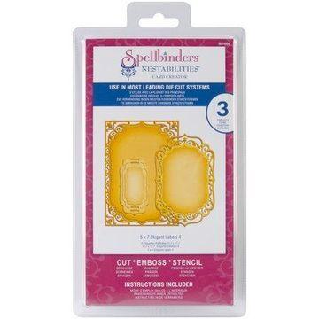 Spellbinders Nestabilities Card Creator Dies, Elegant Labels 4