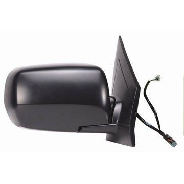 63023H - Fit System Passenger Side Mirror for 02-06 Acura MDX, w/ memory, touring package, black, foldaway, Heated Power