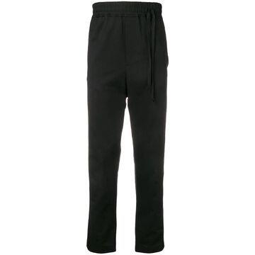 side drawstring track pants