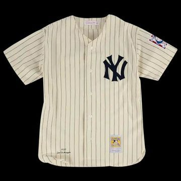 Mitchell & Ness MLB Authentic Collection Jersey - New York Yankees - White, Size One Size
