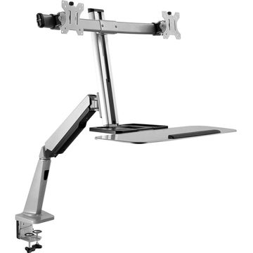 V7 DW1SSGSD-1N Desk Mount for Monitor, Keyboard, Mouse - 27
