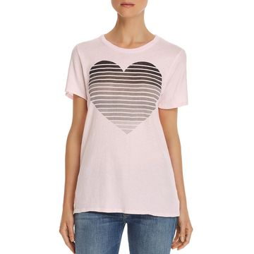 Chaser Womens Graphic Short Sleeves T-Shirt