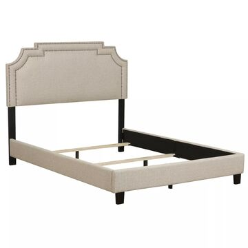 Pulaski Nailhead Marquee Upholstered King Bed