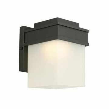 Design House 578120 Bayfield LED Outdoor Wall Light, Black