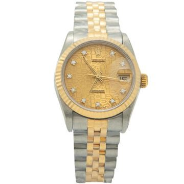 Rolex Datejust 31mm Silver gold and steel Watches