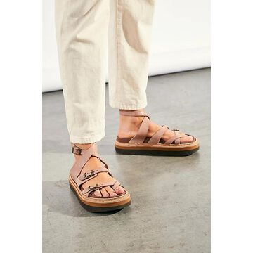 Marina Footbed Sandals by Jeffrey Campbell at Free People, Bone, EU 36