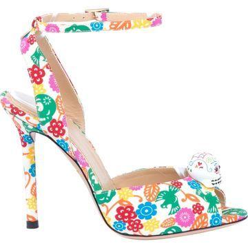 Charlotte Olympia Multicolour Cloth Sandals
