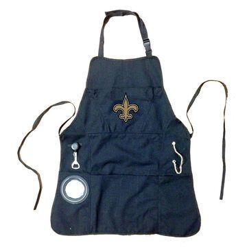 Evergreen New Orleans Saints Grilling Apron