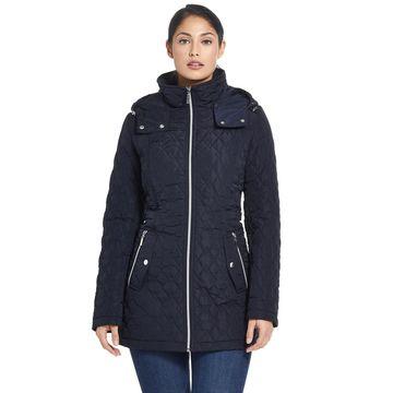 Women's Gallery Hooded Quilted Walker Jacket