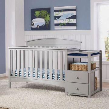 Delta Children Abby Convertible Crib N Changer