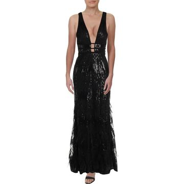 Xscape Womens Evening Dress Sequined Formal - 6