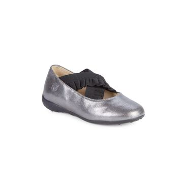 Baby's, Little Girl's & Girl's Naturino Matera Metallic Leather Flats