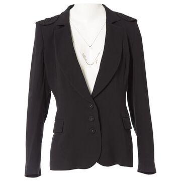 Emanuel Ungaro \N Black Silk Jackets