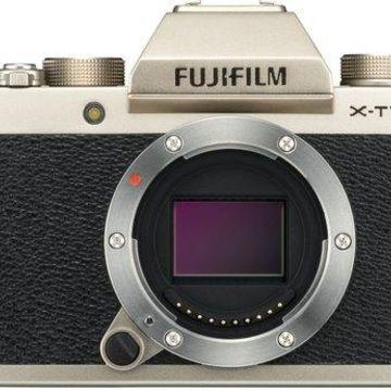 Fujifilm X-T100 Mirrorless Digital Camera (Champagne Gold)
