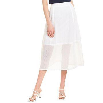 Elie Tahari Daisy A-Line Skirt