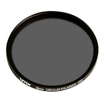 Tiffen 58mm Circular Polarizer Lens Filter