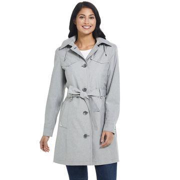 Women's Gallery Hooded Rain Coat
