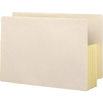 Smead, SMD76164, Tyvek Lined Gusset End Tab File Pockets, 10 / Box, Manila