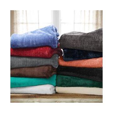 Superior Wrinkle Resistant Plush Fleece Blanket, King Bedding