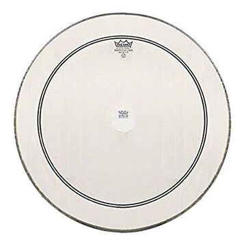P31324C2-U 24 in. Powerstroke 3 Clear Bass Drum Batter Head with White Falam Patch