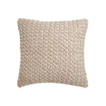 Michael Aram Metallic Knit Decorative Pillow Bedding
